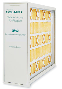 Solaris® Whole House Filtration - Straight Through media cabinet