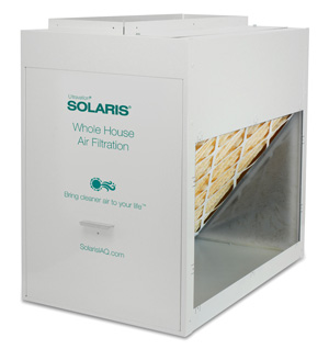 Solaris® Whole House Filtration - Right Angle media cabinet