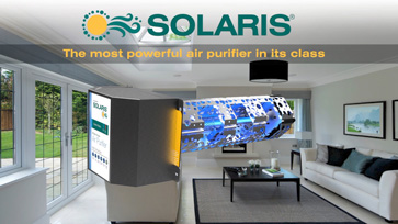 Solaris® the most powerful air purifier in its class