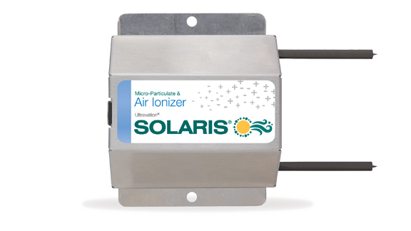 Ultravation Solaris Ionizer with black electrodes